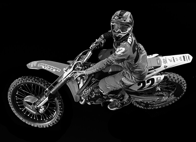 Braking Racing Sponsoring Support CHAD REED